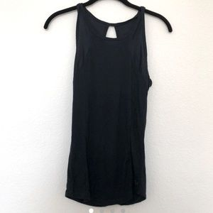 Gilly Hicks navy active tank size XS